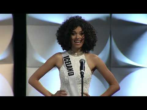 2019 Miss universe preliminary Introduction HD
