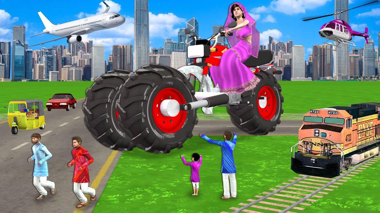 दोहरा बडा पॉव मोटरबाइक वाला Double Big Foot Motorbike Wala Comedy Video हिंदी कहानिय Hindi Kahaniya