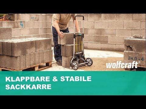 Turbo Klappbare & stabile Sackkarre - Ideal für jeden Kofferaum WN94