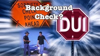 Does a DUI show on a Background Check?