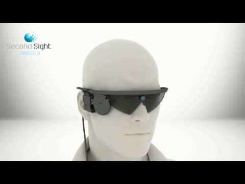 Second Sight - Argus II Retinal Prosthesis System Bionic Eyes Simulation [480p]