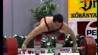 1990 World Weightlifting 110 kg