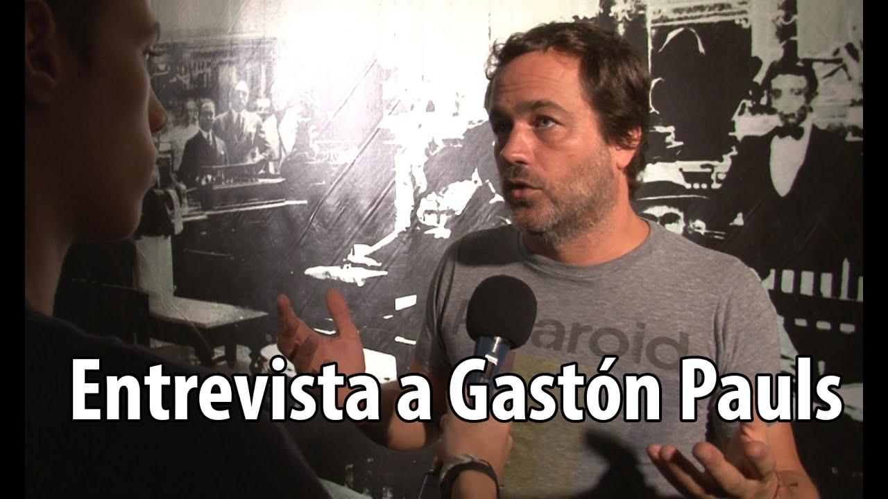 POR QUE GASTON PAULS NO ESTA EN LA TV? | Entrevista exclusiva - YouTube