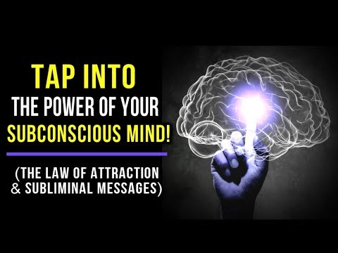 The SECRET to INSTANTLY Tap Into the POWER of Your Subconscious MIND! (Law Of Attraction)