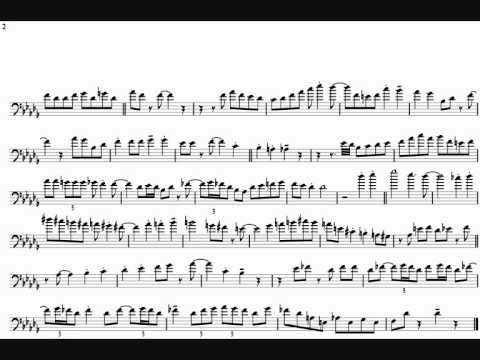 Bill Watrous 'Stomping At The Savoy' Trombone Solo Transcription