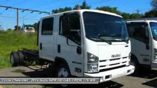 2014 Isuzu NPR HD GAS CREW 176 WB 14500 GVWR IBT PW Shrewsbury NJ 0770