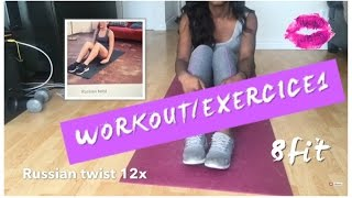workout exercices 1 8fit