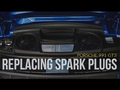 2014 (991) 911 GT3 12,000 Mile Service: Part 2 - Changing Spark Plugs
