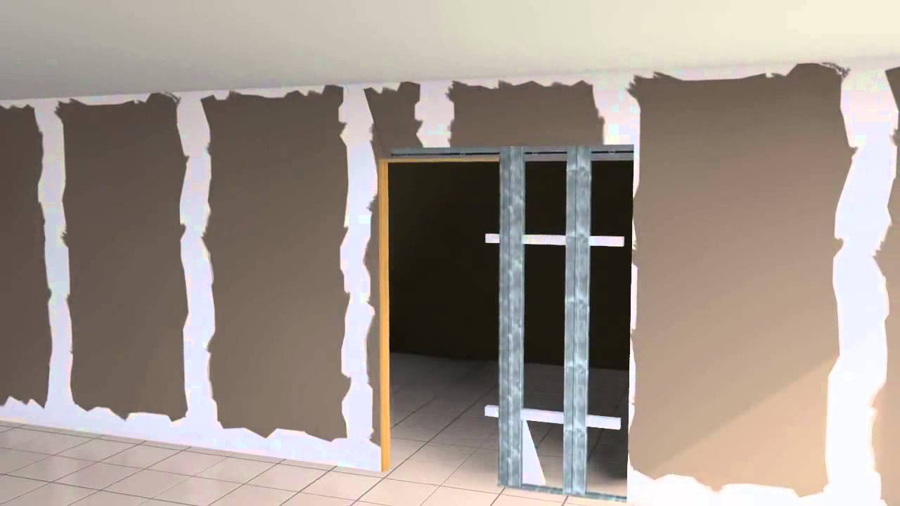 Pocket door frames how to install a pocket door frame kit for Door frame kit
