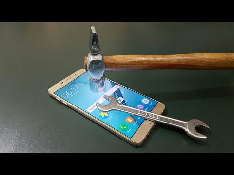Samsung A9 Pro Screen Scratch Test | Must Watch