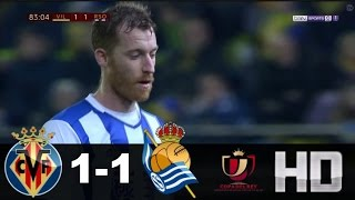 Video Gol Pertandingan Villarreal vs Real Sociedad