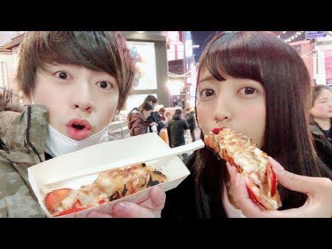 韓国で10万ウォン食べ切れるまで日本に帰れません!!【大食い】【一万円企画】