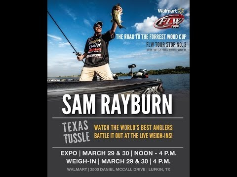 Walmart FLW Tour: Sam Rayburn day two weigh-in