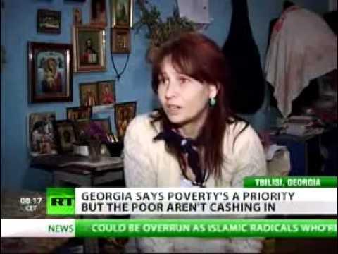 Living below poverty line in Georgia - RT 110420.