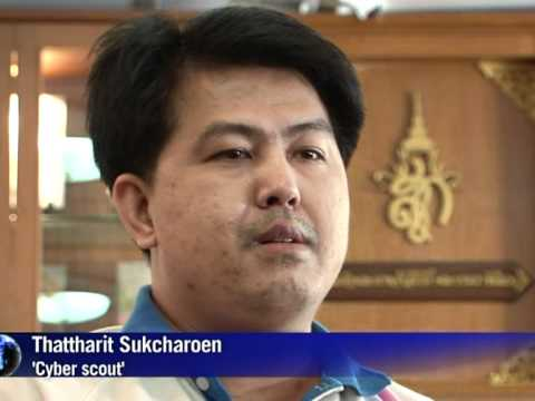 Thai 'cyber scouts' patrol web for royal insults