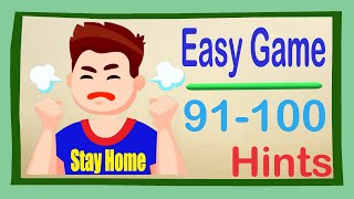 Easy Game Hints Level 91 92 93 94 95 96 97 98 99 100 🏃Happy Fun Play✨Stay Home And Fun Play #WithMe