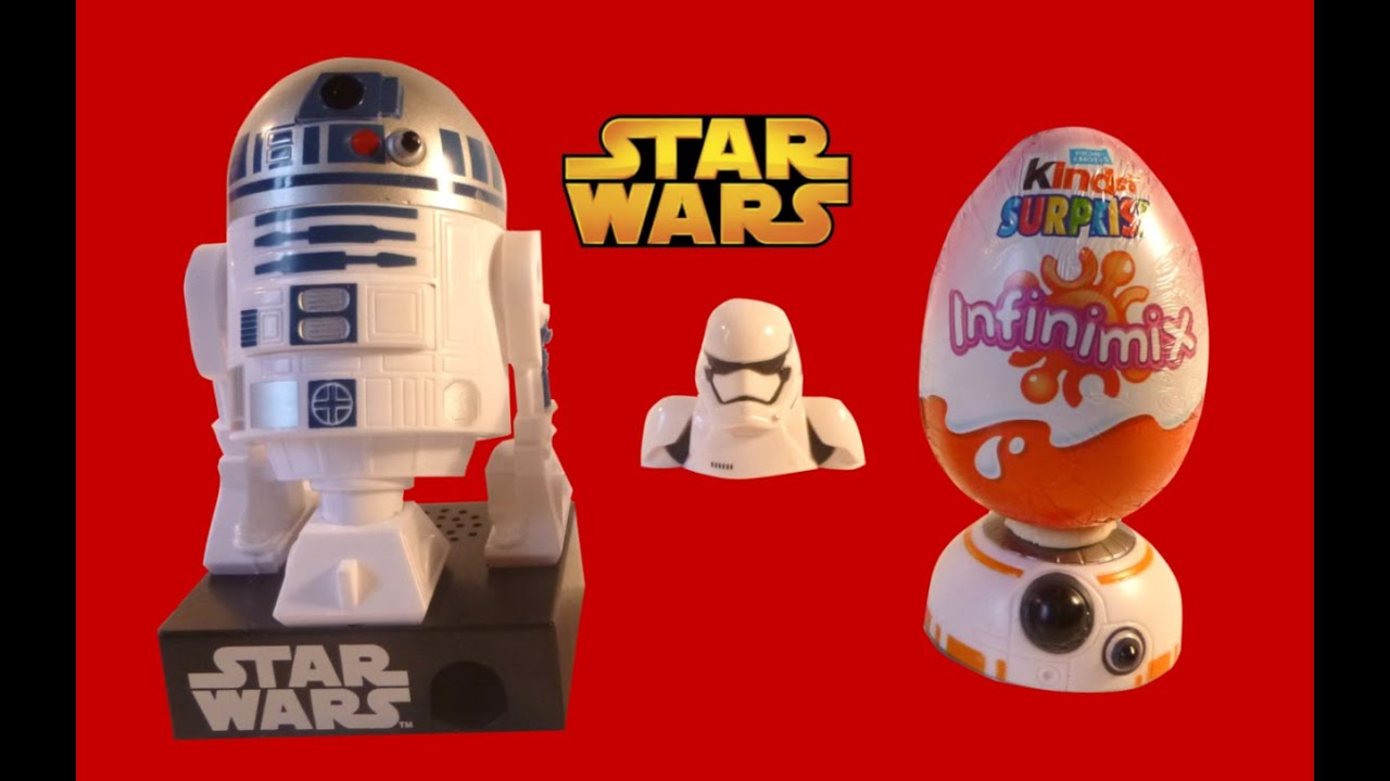 star wars the force awakens kinder surprise infinimix eggs opening toys youtube. Black Bedroom Furniture Sets. Home Design Ideas