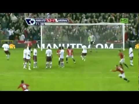 Owen Hargreaves Free Kick vs. Arsenal (2008)