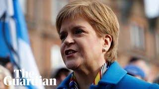 Nicola Sturgeon speaks at SNP campaign launch - watch live