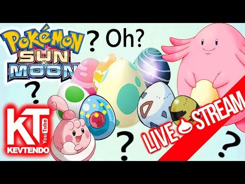 Mystery Egg Hatching !!!  ★ Received From Link Trade ★   ▬ Pokemon Sun & Moon ▬