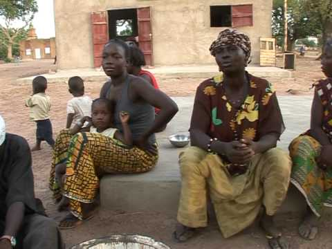 Machine Breaks The Daily Grind For Women In Burkina Faso