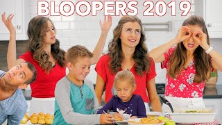 NEW BLOOPERS AND FUNNY MOMENTS OF 2019!