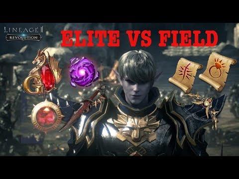 ELITE DUNGEON VS FIELD ??? INI PENJELASANNYA | LINEAGE 2 REVOLUTION