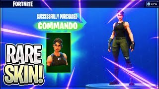 COMMANDO RARE SKIN! Fortnite ITEM SHOP [June 18] | SneSne