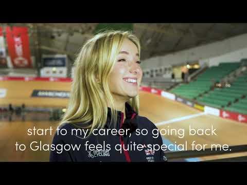 Elinor Barker | UCI Track World Cup Glasgow 2019