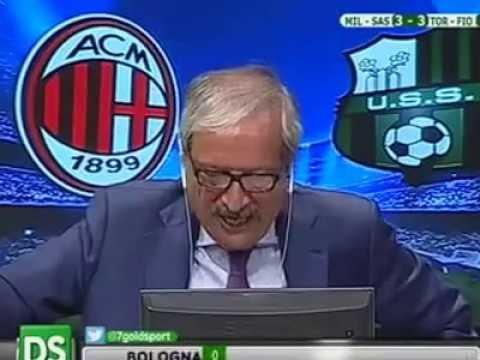 Milan Sassuolo 4-3 Tiziano Crudeli Highlights - YouTube