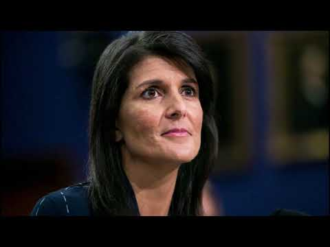 Nikki Haley Sends UN Direct Message On Iran Protests