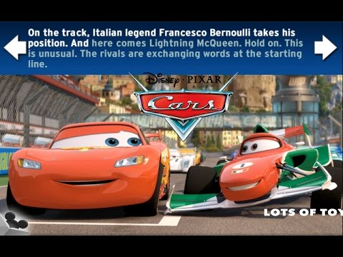 Disney Cars Pixar 2 Read and Race GAME REVIEW