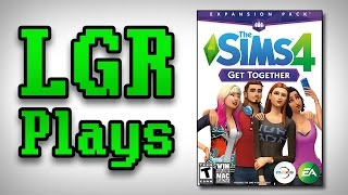 LGR Plays - The Sims 4 Get Together