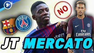 Ousmane Dembélé refuse le PSG et freine le transfert de Neymar | Journal du Mercato