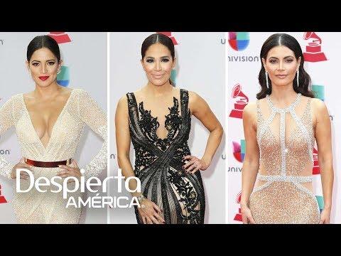 Pamela Silva, Karla Martínez y Chiqui Delgado brillan en los Latin GRAMMY