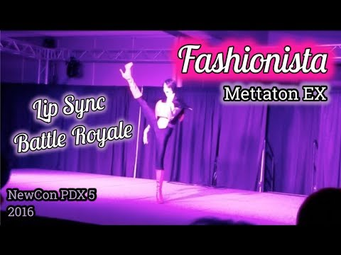 FASHIONISTA Mettaton EX | Lip Sync Battle Royale | NewCon PDX 5, 2016