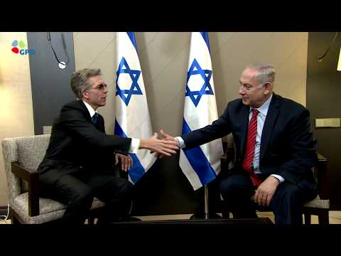 PM Netanyahu Meets SAP CEO Bill McDermott