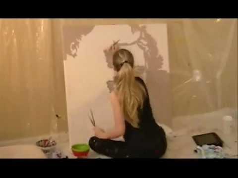 James Dean Painted by Elisabetta tone