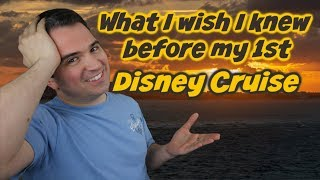 What I wish I knew before my 1st Disney Cruise | Lessons Learned