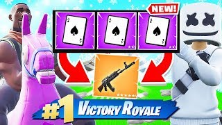 SPOONS CARD GAME *NEW* Creative Game Mode in Fortnite