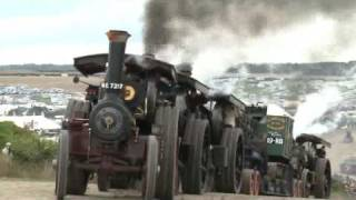 THE GREAT DORSET STEAM FAIR - HEAVY HAULAGE ON THE ROAD AND IN THE