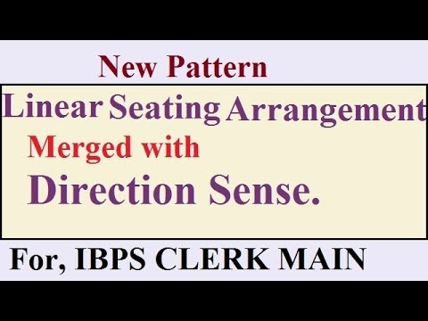 seating arrangement merged with direction sense