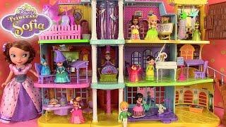 Princesse Sofia the first Magical Royal Prep Academy Playset et Figurines Jouets de filles