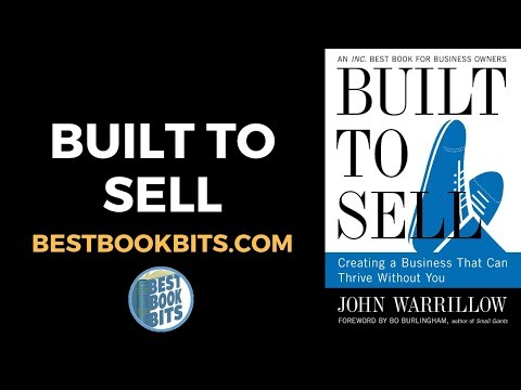 Built to Sell   John Warrillow   Book Summary
