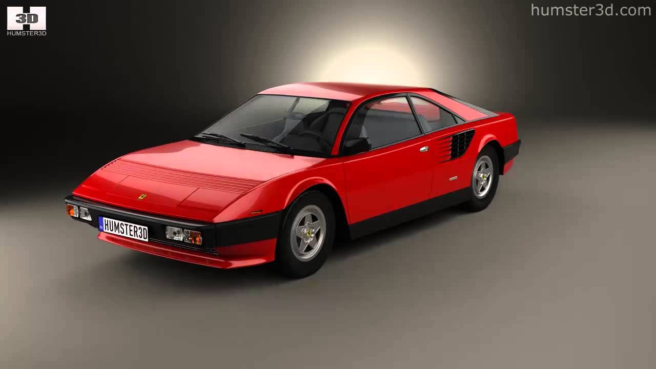 ferrari mondial 8 1980 by 3d model store youtube. Black Bedroom Furniture Sets. Home Design Ideas