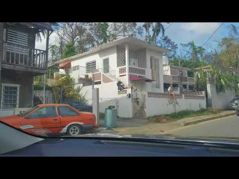Hurricane Damage in Mayaguez, Puerto Rico (Video 2) (Hurricane Maria Disaster Relief in #PuertoRico)