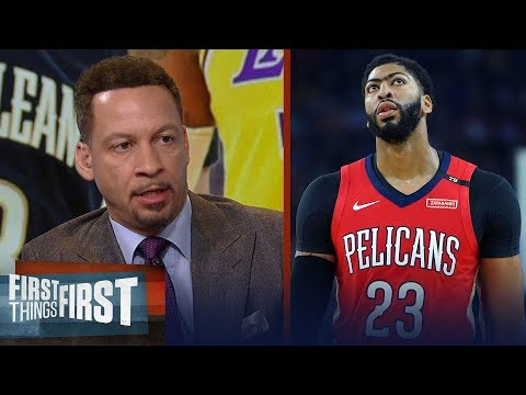 Pelicans shouldn't rule out Lakers in Anthony Davis trade - Broussard   NBA   FIRST THINGS FIRST