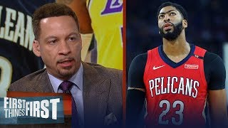 Pelicans shouldn't rule out Lakers in Anthony Davis trade - Broussard | NBA | FIRST THINGS FIRST