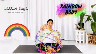 Kids Yoga - Namaste at Home - Rainbow Body