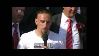 Ribéry spricht deutsch